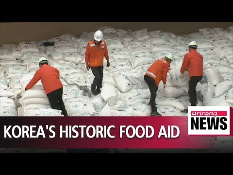 S. Korea sends first shipment of food aid after joining the FAC
