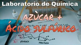 REACCIÓN QUÍMICA DEL AZÚCAR Y ÁCIDO SULFÚRICO. EXPERIMENTOS PARA COMPRENDER.
