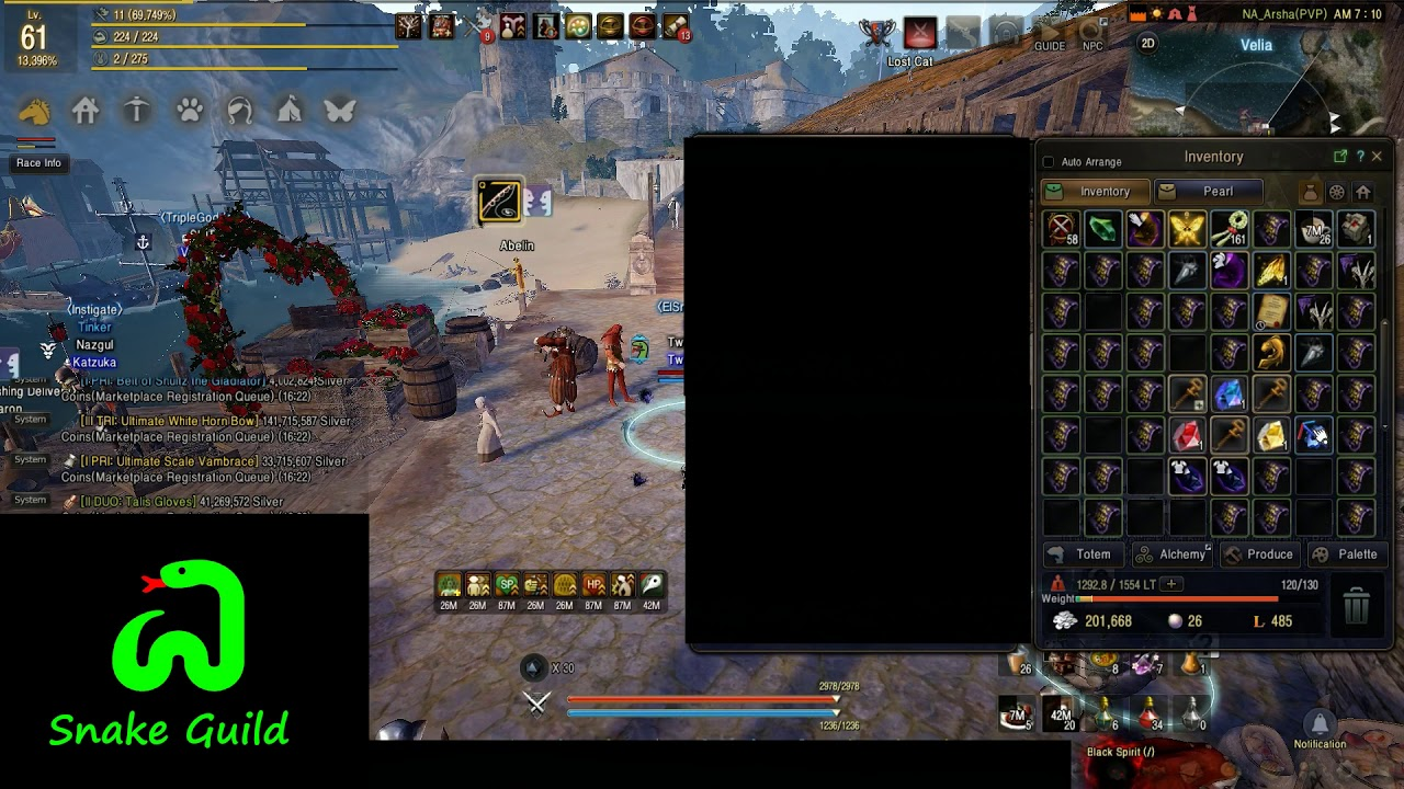 Here is guide on how to grind hystria as sorc   Black Desert