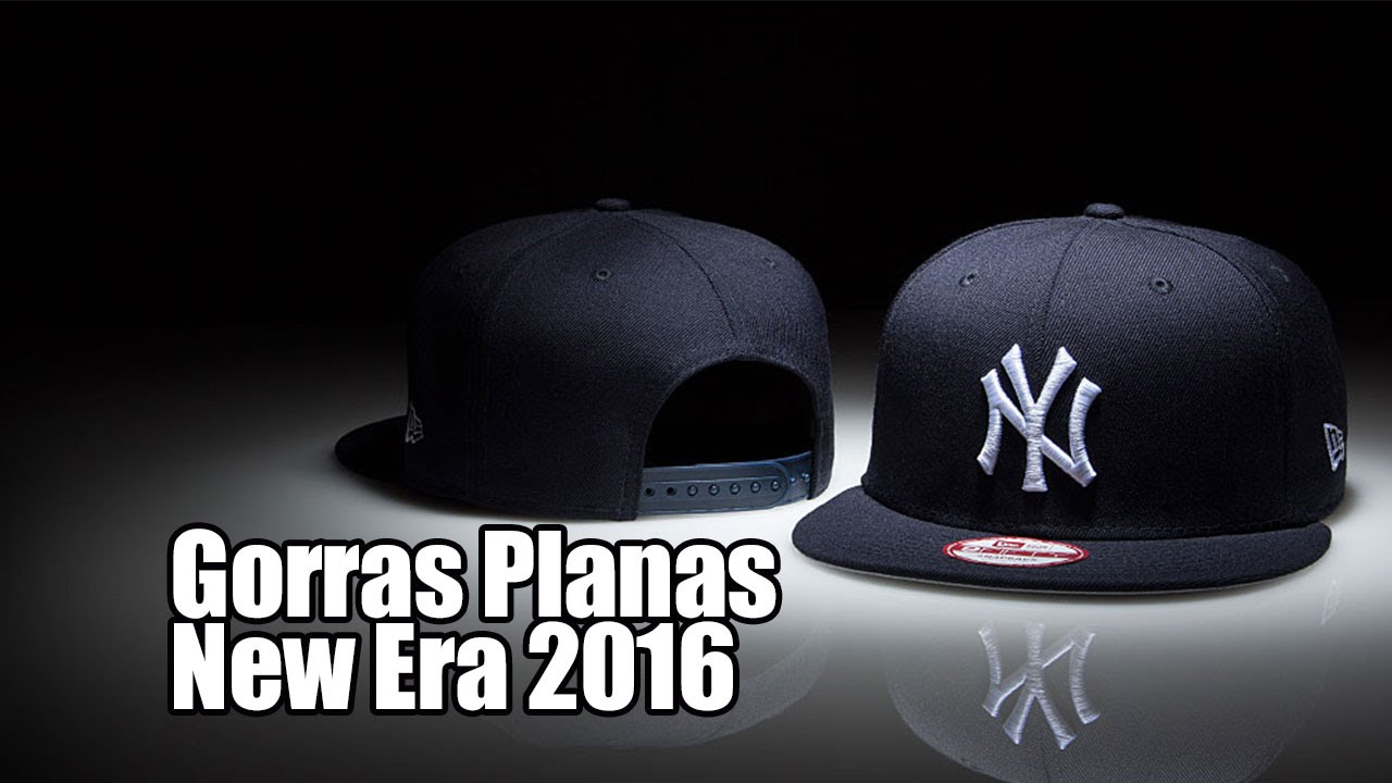 bd17cffa2cf86 Gorras Planas New Era 2016 - YouTube