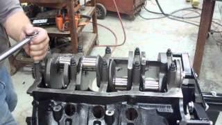 How to torque main bearings