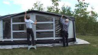 comment monter un auvent de caravane