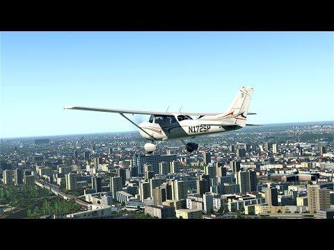 [X-PLANE 11.30] Rundflug über Berlin ✈Ortho4XP   X-Europe 2   VFR-GK Berlin