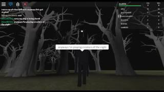 Roblox - Creatures of the Night - Monsters are everywhere!