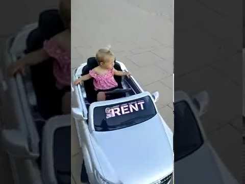Coches infantiles tele dirigidos con control parental