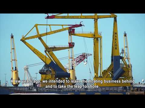 Emission reduction for floating crane Marcor | DGMR