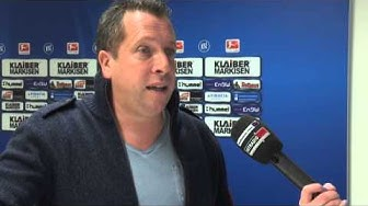 KSC-Trainer Markus Kauczinski im Interview