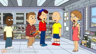 Caillou Beats Up a Kid in Walmart/Grounded