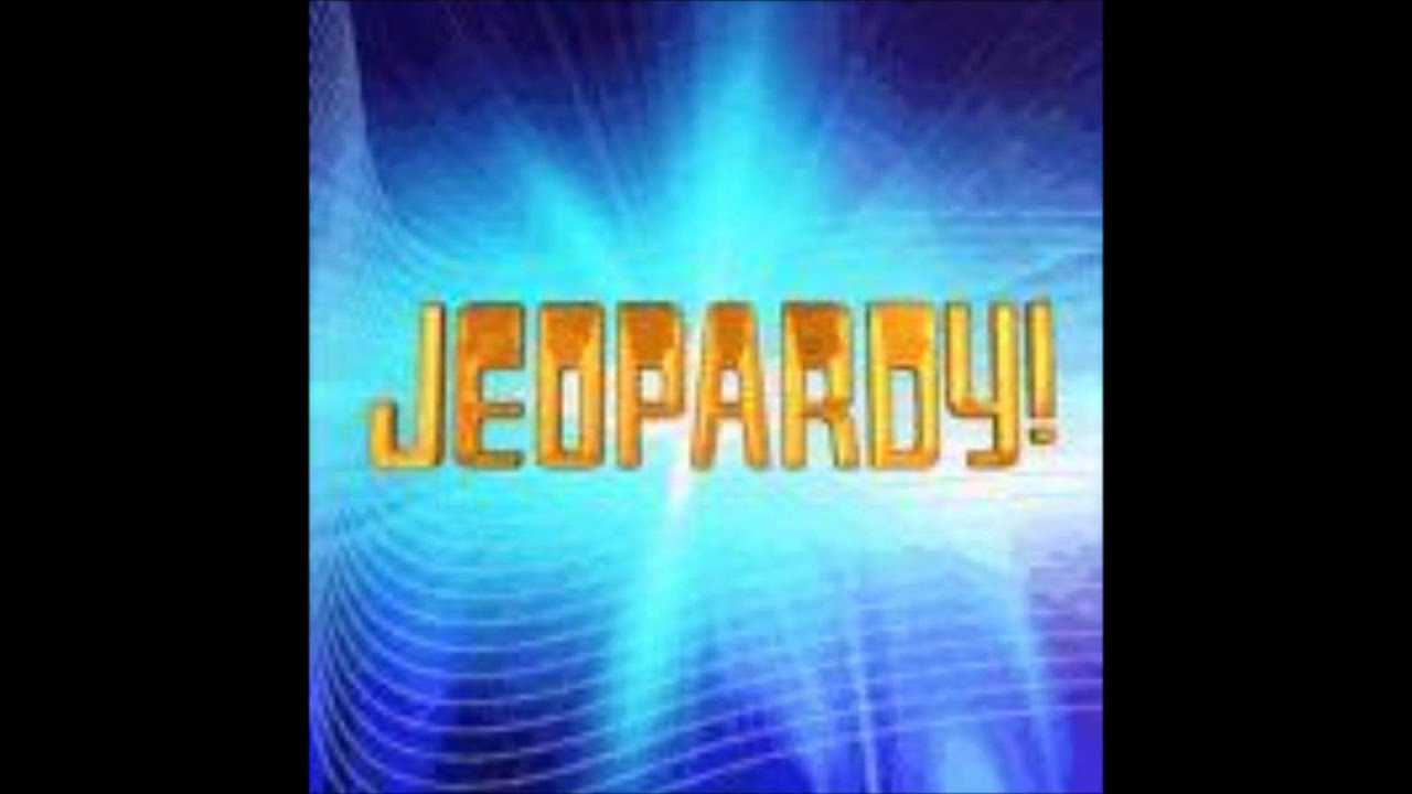 jeopardy think music 1997-2008 - youtube, Powerpoint templates