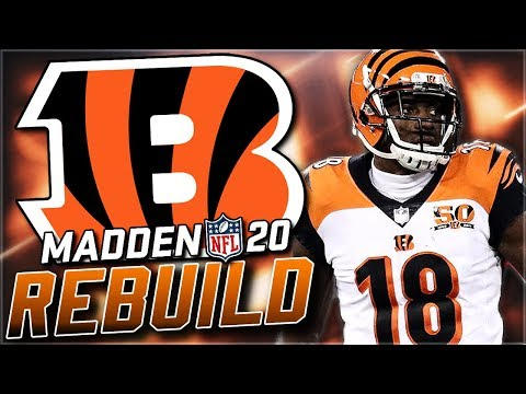 Rebuilding the Cincinnati Bengals | Best Rookie QB Ever! Madden 20 Franchise