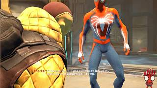Playing as PS4 Spider-man - Mission 3 Shocker - The Amazing Spider-man 2 (PC)