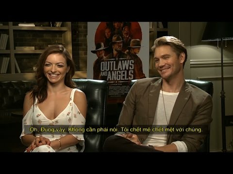 Chad Michael Murray & Francesca Eastwood shares about each other & 'OUTLAWS & ANGELS' 2016