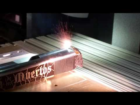 3D laser engraving on Firearms with Z Tech's QM  lasers