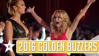 GOLDEN BUZZER Auditions On Britain\'s Got Talent 2016