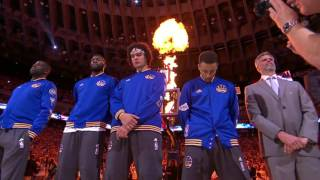 Carlos Santana Sings the National Anthem for NBA Finals Game 2