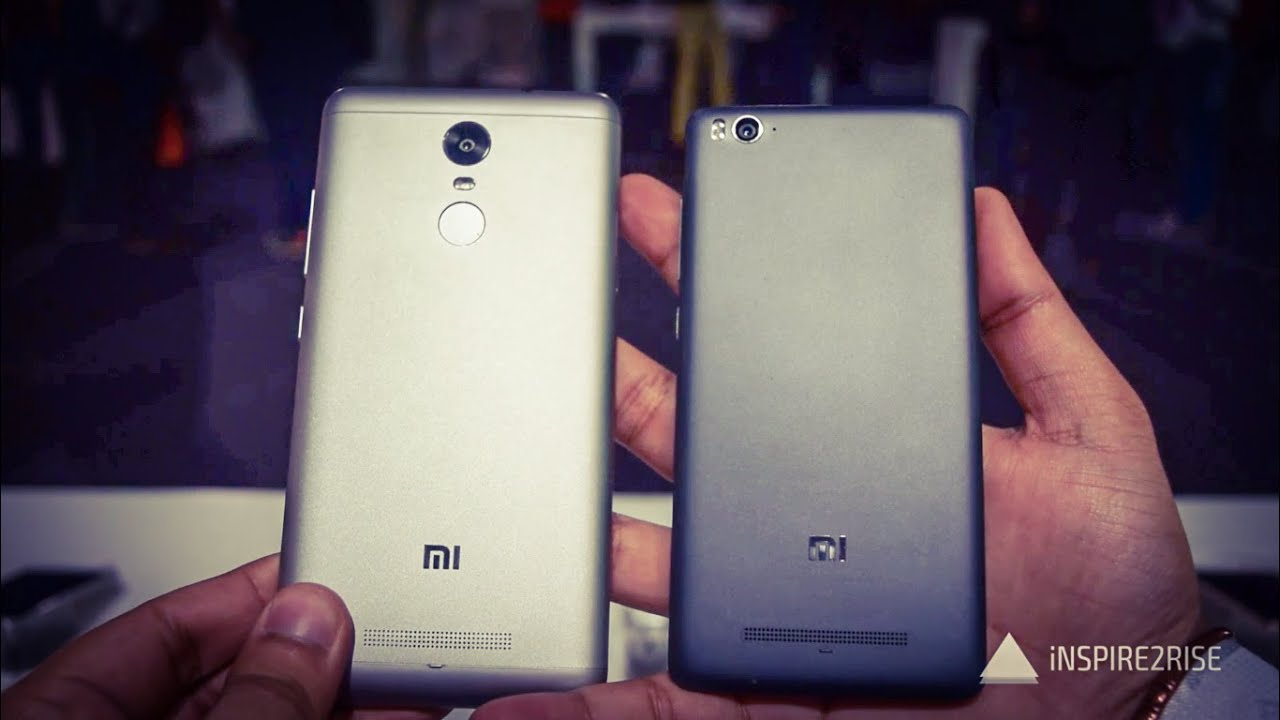 Xiaomi Redmi Note 3 Vs Xiaomi Mi 4i Comparison Overview