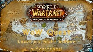 WoW Quest: Lasst sie nicht wieder auferstehen!