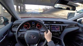 2020 Toyota Camry TRD V6 - POV Review