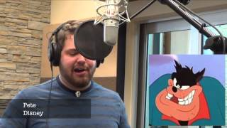 Guy sings Let It Go in multiple character voices