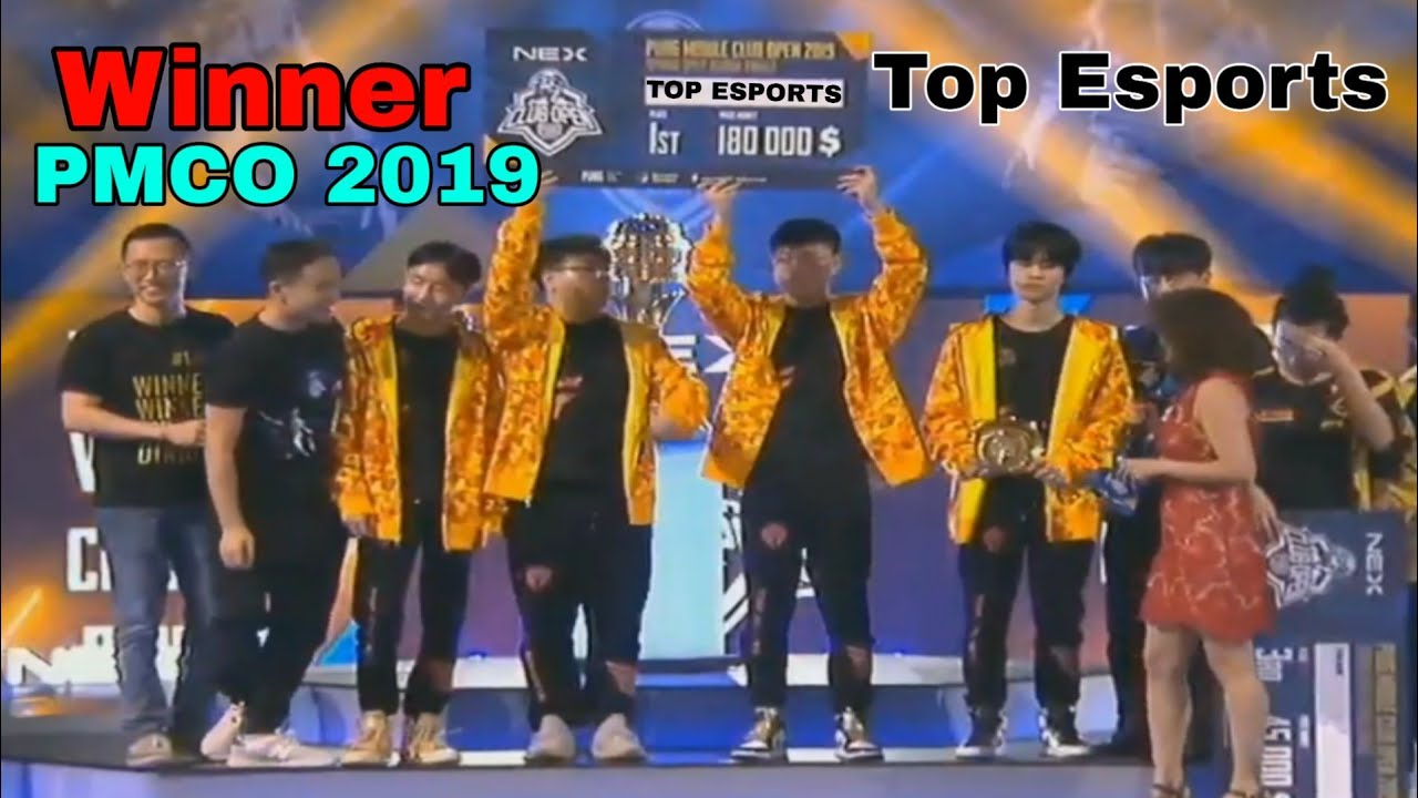 Top Esports Wins PMCO Global Finals 2019 Berlin | TES Winning Moment | Pubg Mobile | China Wins Pmco