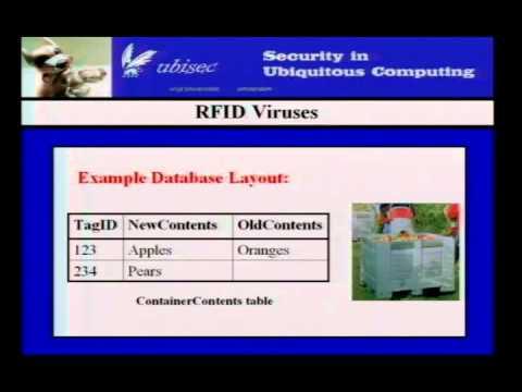 2006 BlackHat Vegas V37 Rieback RFID Malware Demystified