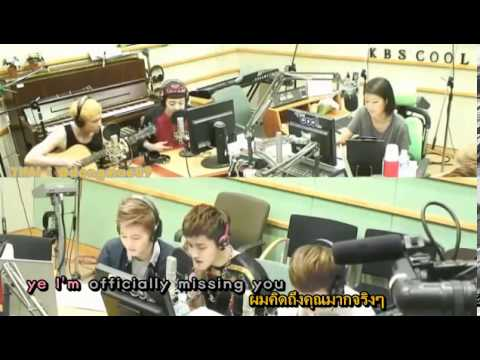 [karaoke TH-SUB] 130617 EXO Cover : Officially Missing You by Geeks