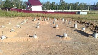 УСТРОЙСТВО СВАЙНЫХ ФУНДАМЕНТОВ(В каких грунтах применяют свайный фундамент. Какие существуют типы свай. Что такое ростверк свайного фунда..., 2015-01-16T00:07:46.000Z)