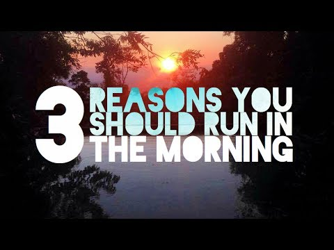 3 Reasons You Should Run in the Morning