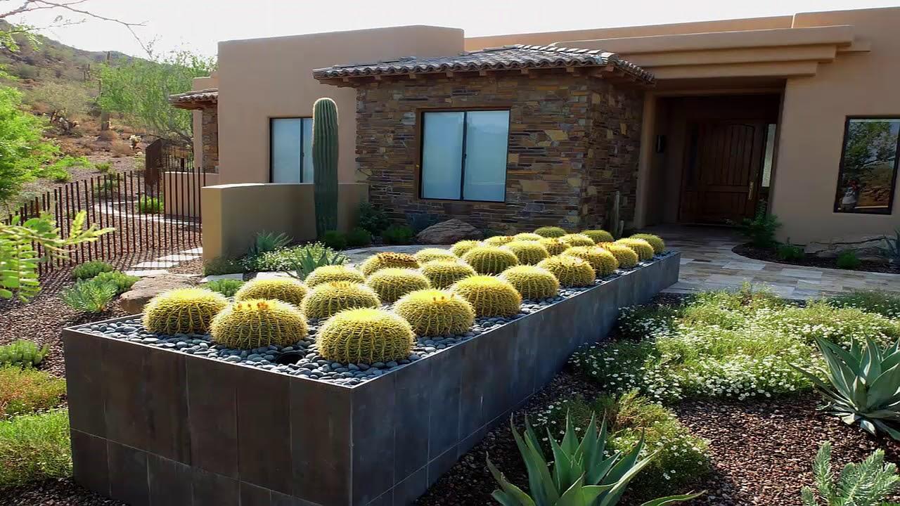 Home Cactus Garden Design Ideas - Nadin Decor - YouTube