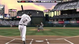 Обучение MLB 12 The Show: Чистое отбивание
