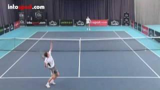 Tennis Smash Technique