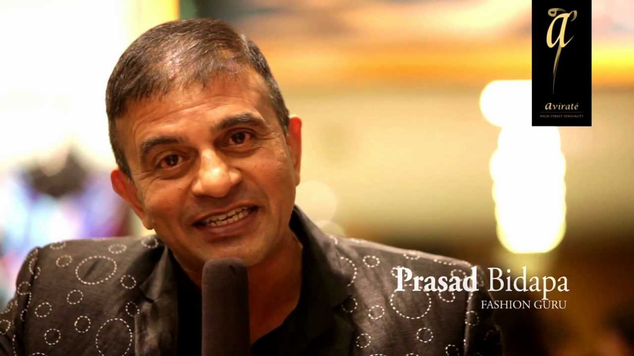 Prasad Bidapa Prasad Bidapa at the Avirate Store launch in UB City YouTube