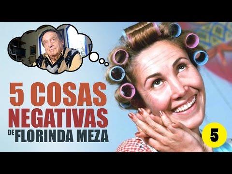 5 Cosas Negativas de Florinda Meza