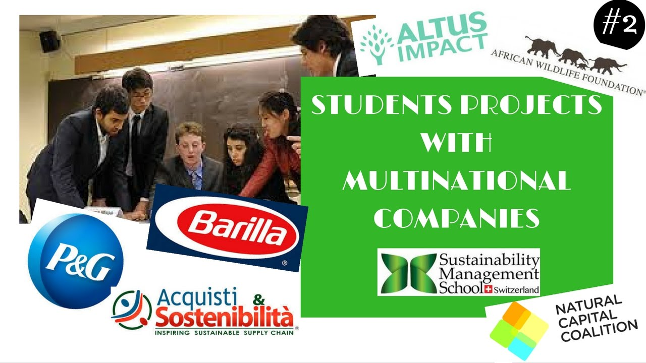 Students Projects With Multinational Panies P&G Barilla