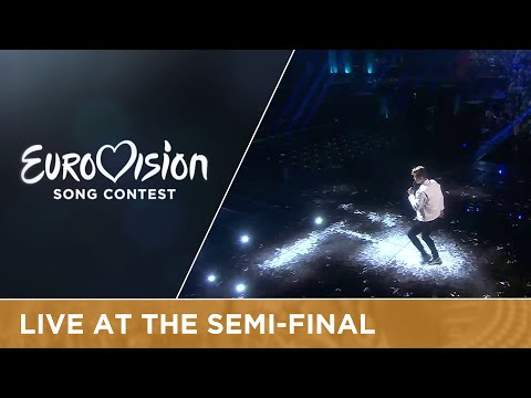 Donny Montell - I've Been Waiting For This Night (Lithuania) Live at Semi-Final 2
