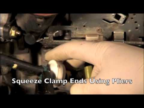 Replace Your Lawn Tractor Fuel Filter! - YouTube