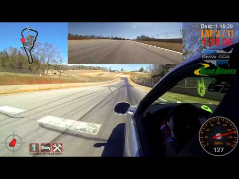20150308 Track Day - BMW CCA, Road Atlanta, Group A, Session 2