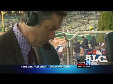 TBS MLB sportscaster has WOOD TV8 ties