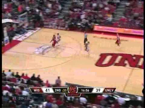 UNLV vs Wisconsin 11/2010 NCAA College Basketball full Game Highlights