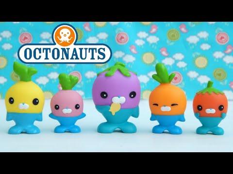Octonauts Vegimals Character Set Tunip Codish Barrot Grouber Tominnow Toys