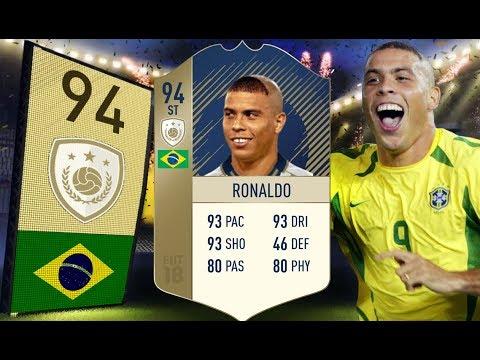 FIFA 18 - Najdroższa karta w grze! - 94 Ronaldo Nazário