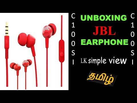 Review | Unboxing earphone | JBL C100SI | LK