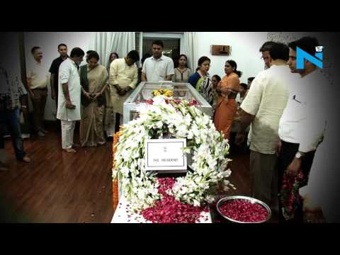 Anil Madhav Dave cremated with full state honour