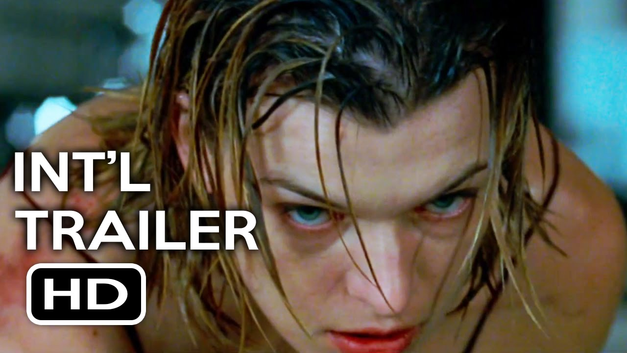 Resident Evil The Final Chapter Official Trailer: Resident Evil: The Final Chapter Official International