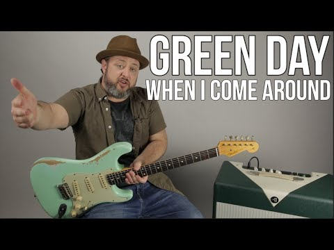 Green Day - When I Come Around - Guitar Lesson - How to Play Green Day on Guitar