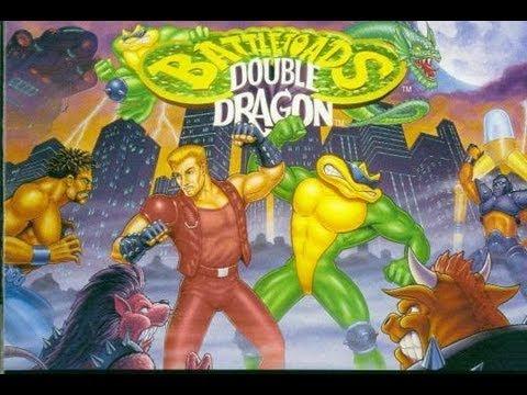Battletoads & Double Dragon (NES/Dendy). Прохождение-обзор.