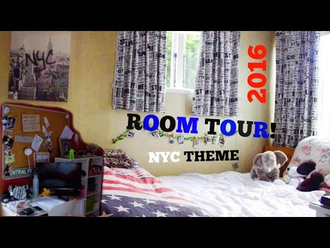 MY ROOM TOUR | 2016 ~ NYC THEMED