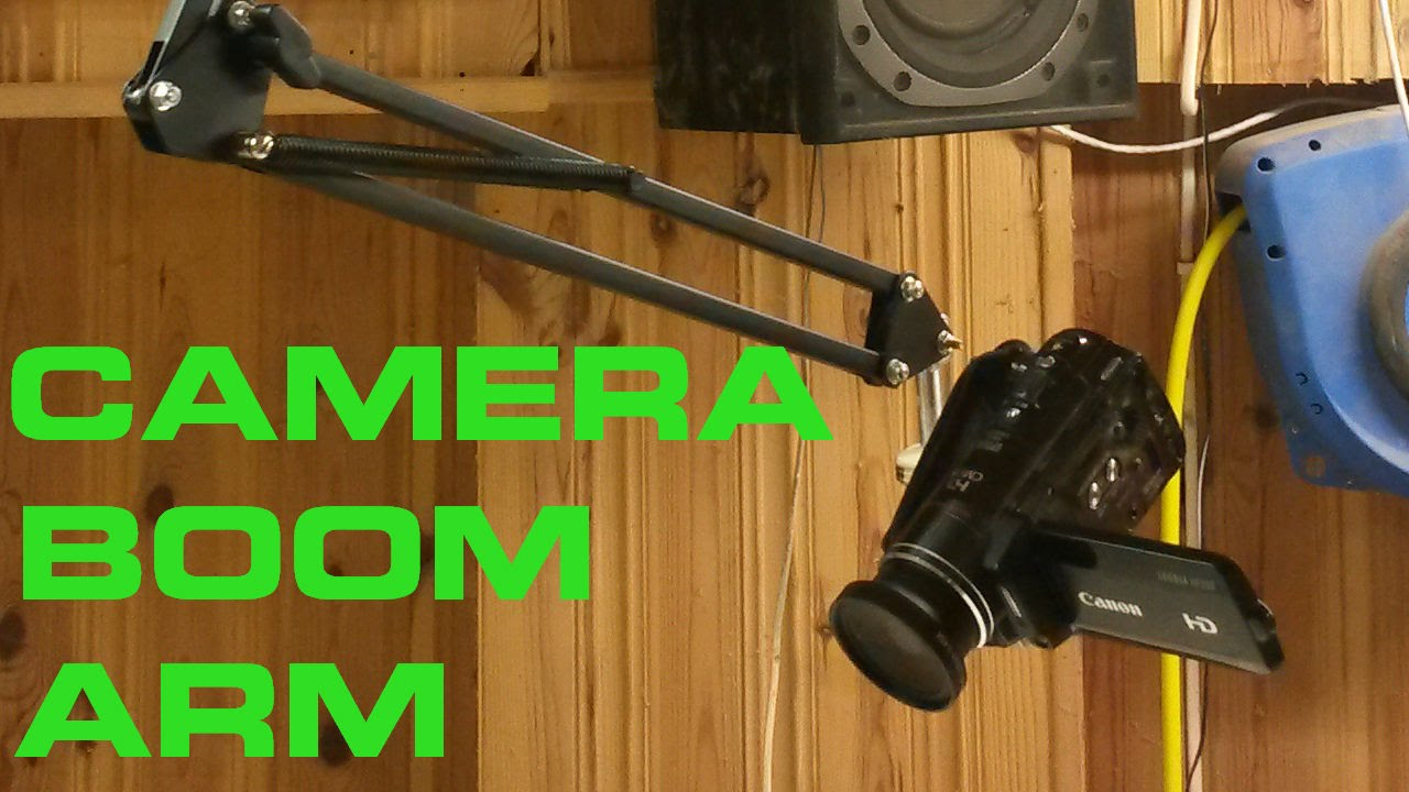 Camera Boom Arm Youtube