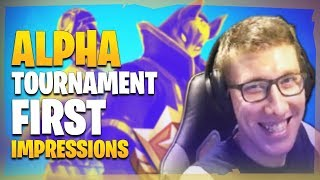 Alpha Tournament - G2 RazZzero0o first impressions