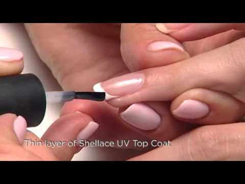 CND Shellac Application And Removal For A French Manicure